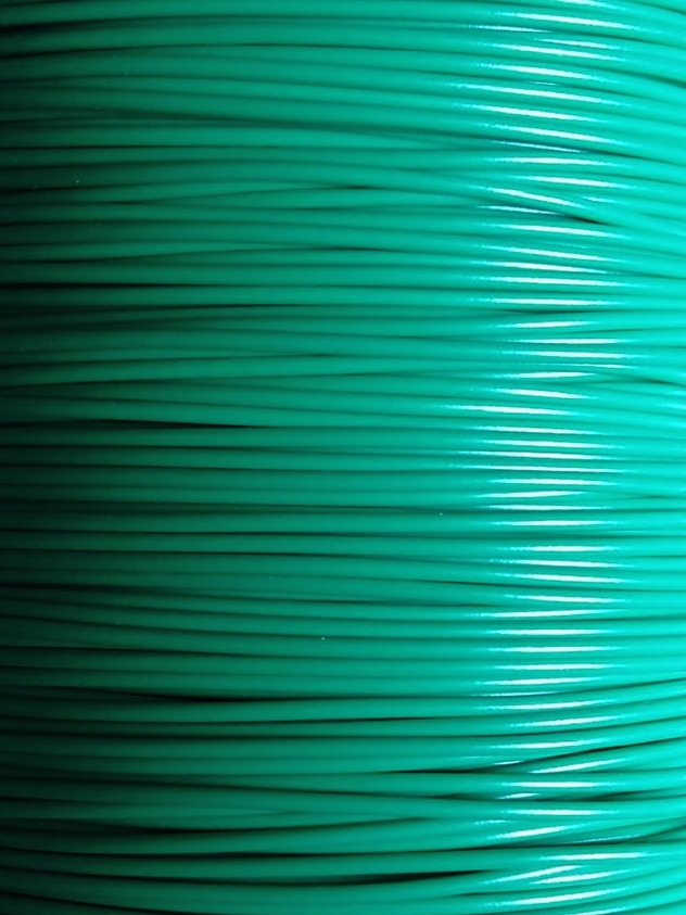 10 metres DCC Dropper wire - 16 0.2 Green