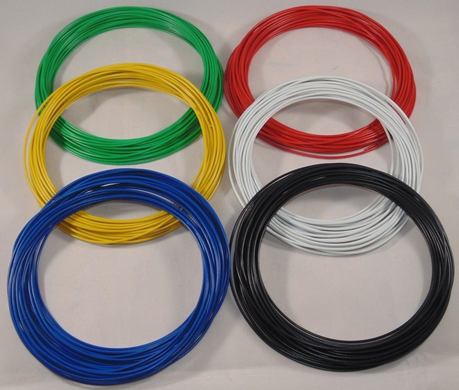 Astonishing 60M Dropper Wire 3A 16 0 2 Dcc Layout Wire 10M X 6 Colours Wiring Database Wedabyuccorg