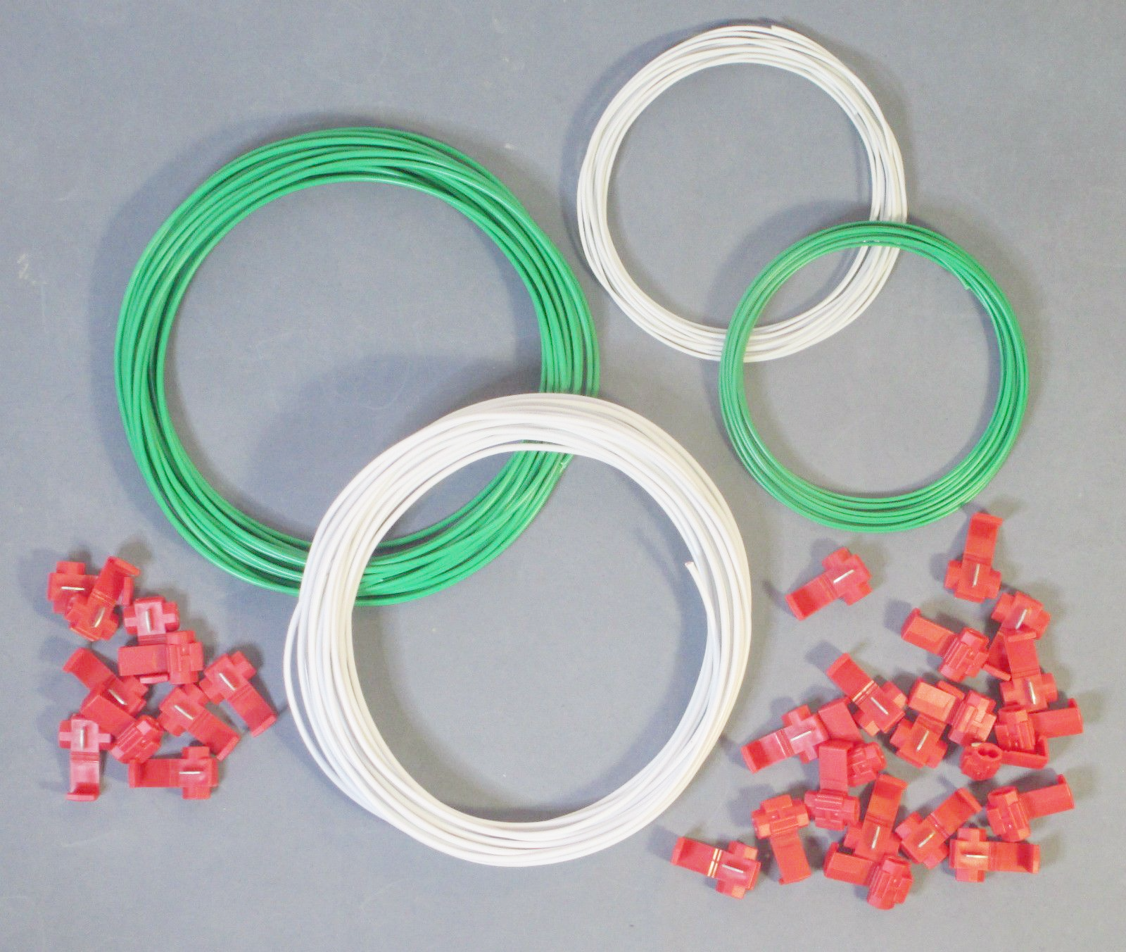 Medium & Large DCC Layout Wire Starter Kit Green & White - Track Bus ...